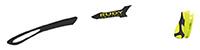 カスタムオーダーが出来るスポーツサングラスTRALYX SLIMブラック / ブラック - イエローフルオブラック - イエローフルオ / イエローフルオ