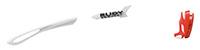 カスタムオーダーが出来るスポーツサングラスTRALYX SLIMホワイト / ホワイト - ブラック ホワイト - レッドフルオ / レッドフルオ