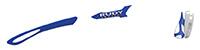カスタムオーダーが出来るスポーツサングラスTRALYX SLIMロイヤル / ホワイト - ロイヤルホワイト - ロイヤル / ホワイト グロ