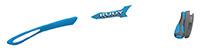 カスタムオーダーが出来るスポーツサングラスTRALYX SLIMアズール / ホワイト - アズールアズール - ダークグレイ / ピヨンボ