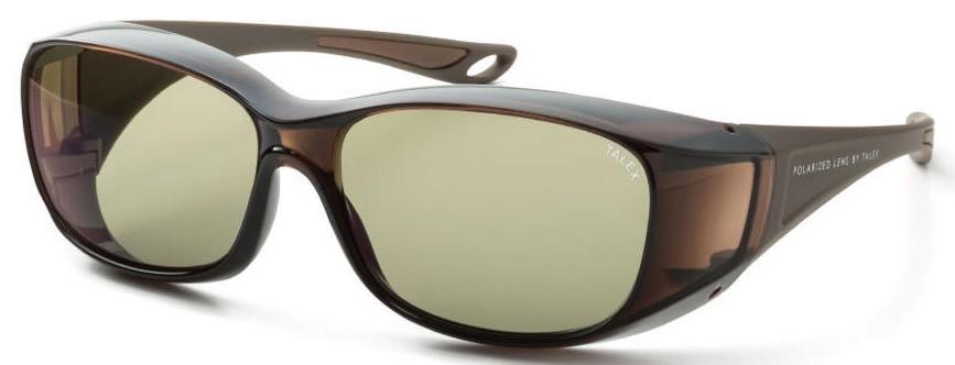 必要なときにメガネの上から掛ける快適な偏光サングラスEM6-D0304
