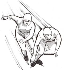 スピードスケートの競技結果に深視力が影響する理由