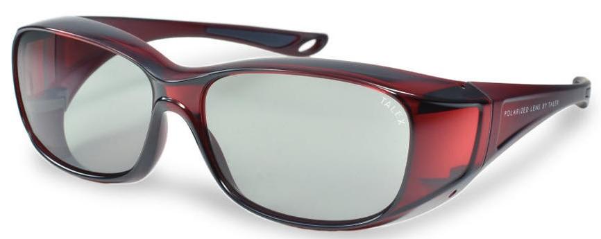 必要なときにメガネの上から掛ける快適な偏光サングラスEM6-D0307