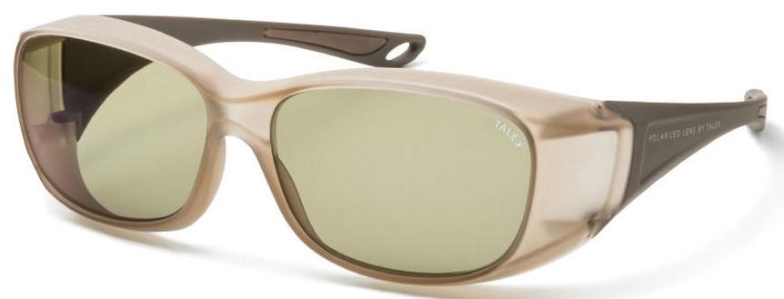 必要なときにメガネの上から掛ける快適な偏光サングラスEM6-D0305