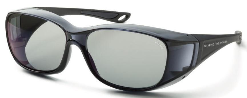 必要なときにメガネの上から掛ける快適な偏光サングラスEM6-D0302