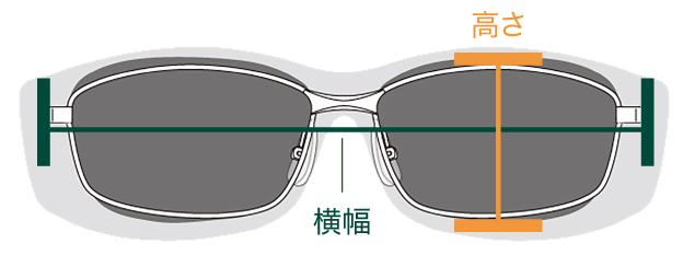 安価な着色レンズとはちがいレンズに0.03 ミリの雑光カットフィルムを挟み込む本格仕様のオーバーサングラス