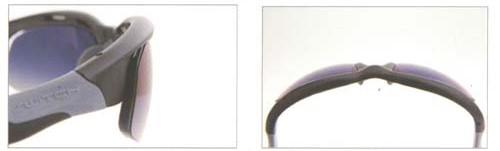 ハイカーブスポーツサングラスの度付きを快適にする設計