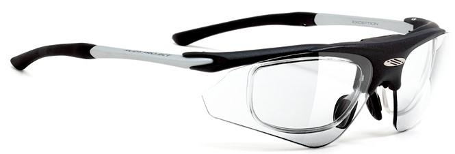 跳ね上げサングラスエクセプション STDインパクトX® 2 調光ブラックレンズ