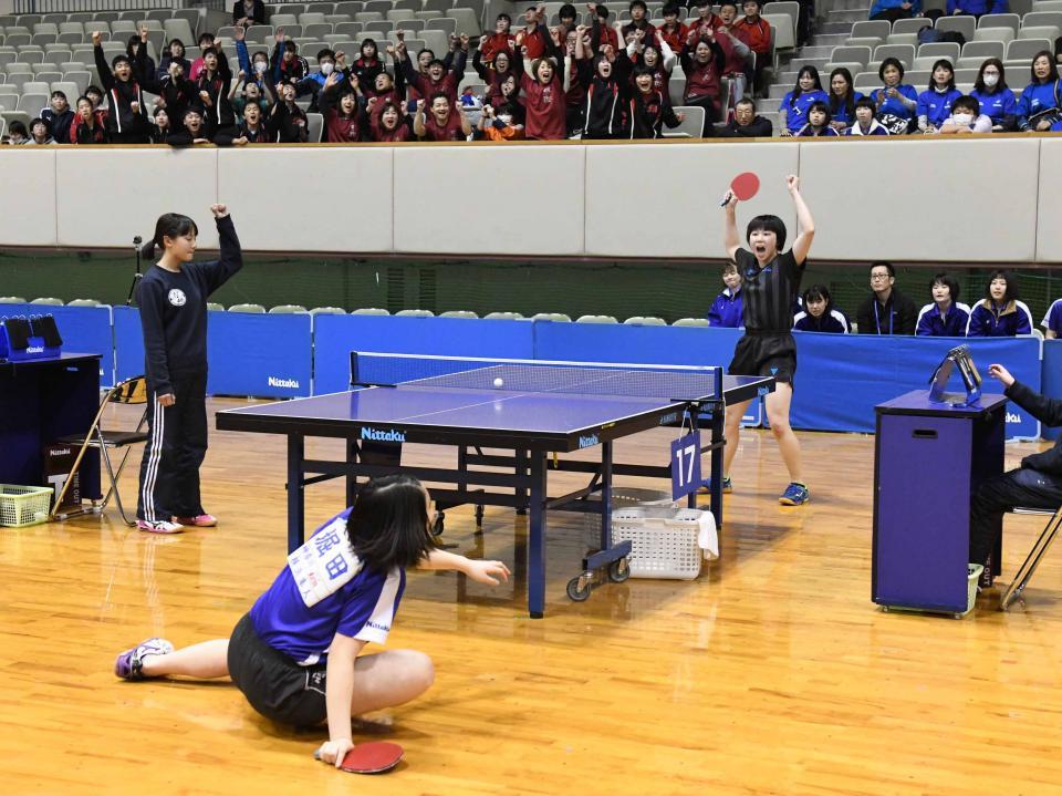 卓球のボールを追う目の力の差がスポーツビジョン