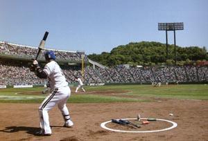 野球にはスポーツビジョンの中の眼と手・足の協調性の能力が必要