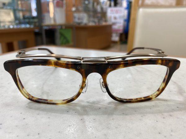 セルメタル手の跳ね上げ式メガネ