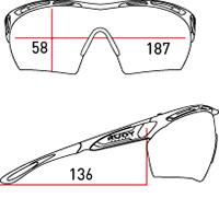 保護眼鏡大きさ