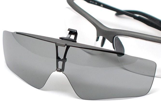 マヤMAYAフレームにサングラスを取り付け