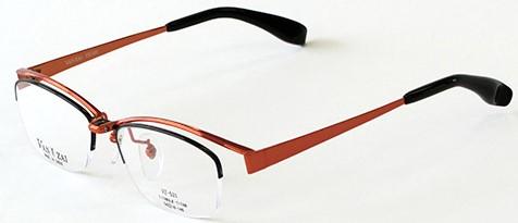 カラフルな跳ね上げ式メガネ