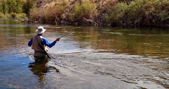 釣りどきの川底の見え方が変わるタレックス偏光レンズ