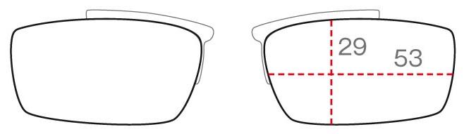クリップのレンズ形状SHAPE A