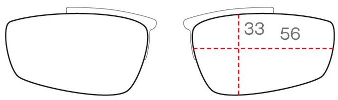 クリップのレンズ形状SHAPE F
