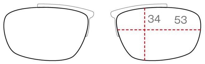 クリップのレンズ形状SHAPE S
