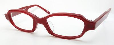 ワンドドッグ強度近視用メガネクリムゾンレッド