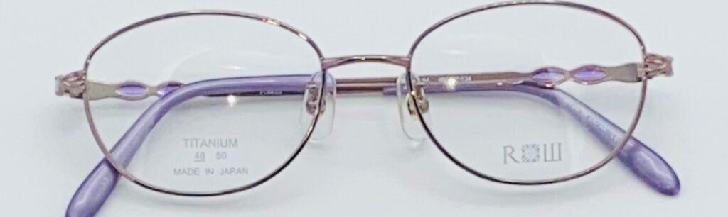 一般の女性用眼鏡