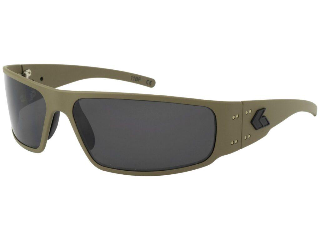 Tan Frame Cerakote / Grey Smoked Polarized Lenses