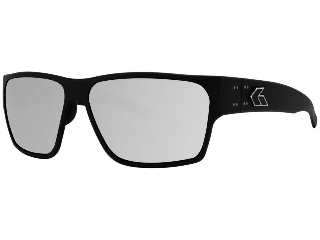 Matte Black Frame / Grey Smoked Polarized w/Chrome Mirror マットブラック/スモーク偏光×クロームミラー(GDELMTBLK01P-C)