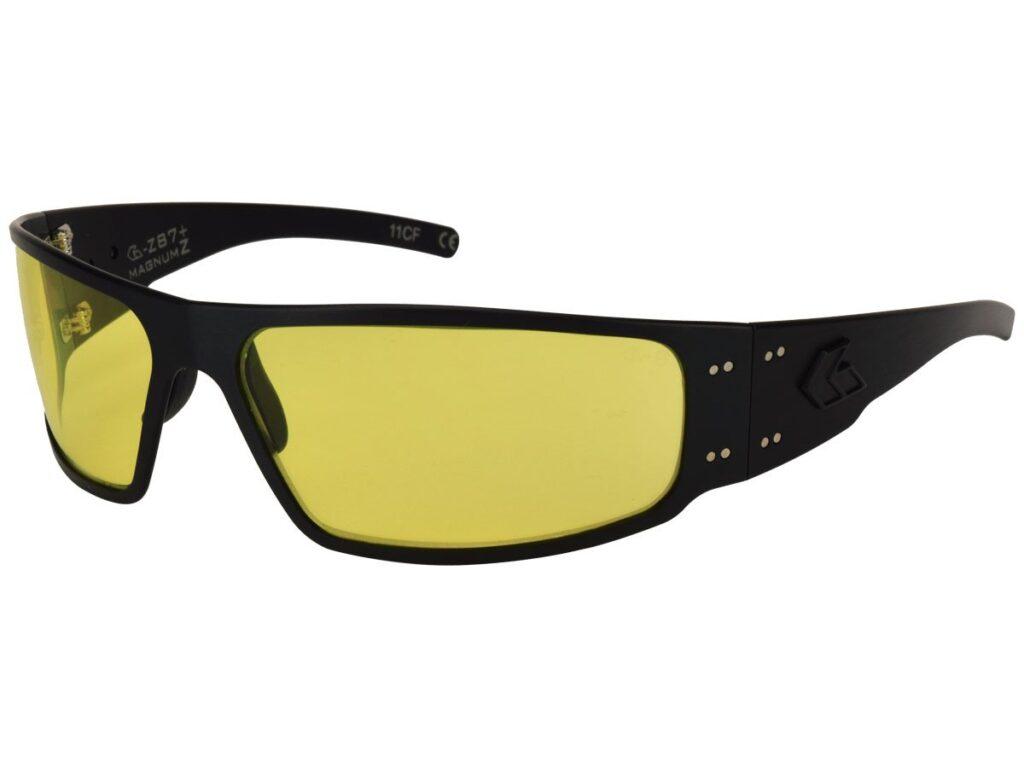 Tactical Black Frame Yellow UV Lenses