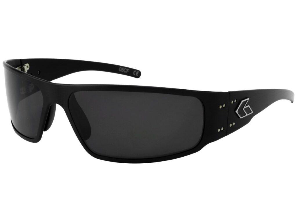 Black Frame / Grey Smoked UV Lenses