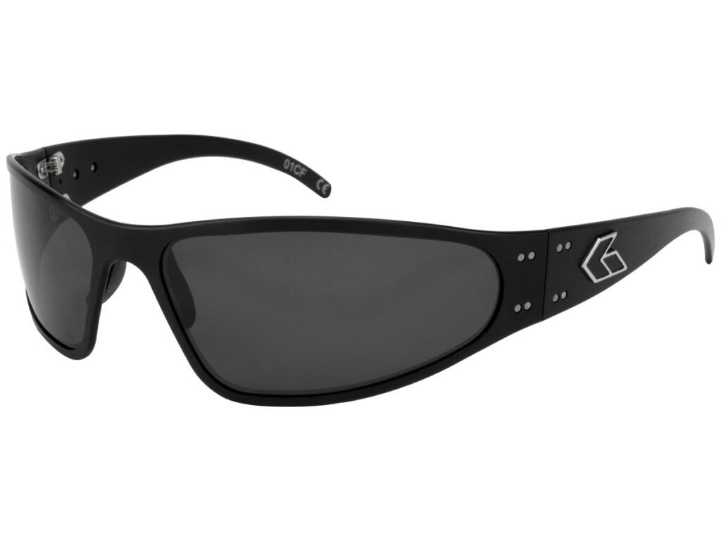WRAPTOR/Black/ Grey Smoked UV Lens
