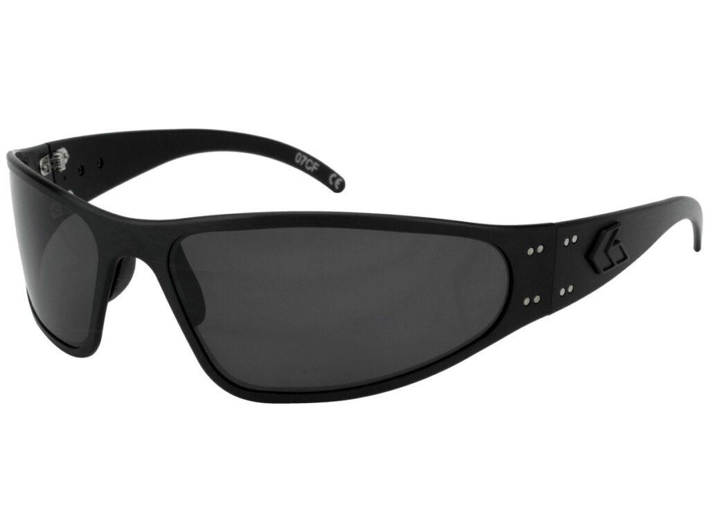 Tactical Black/ Grey Smoked Polarized Lens