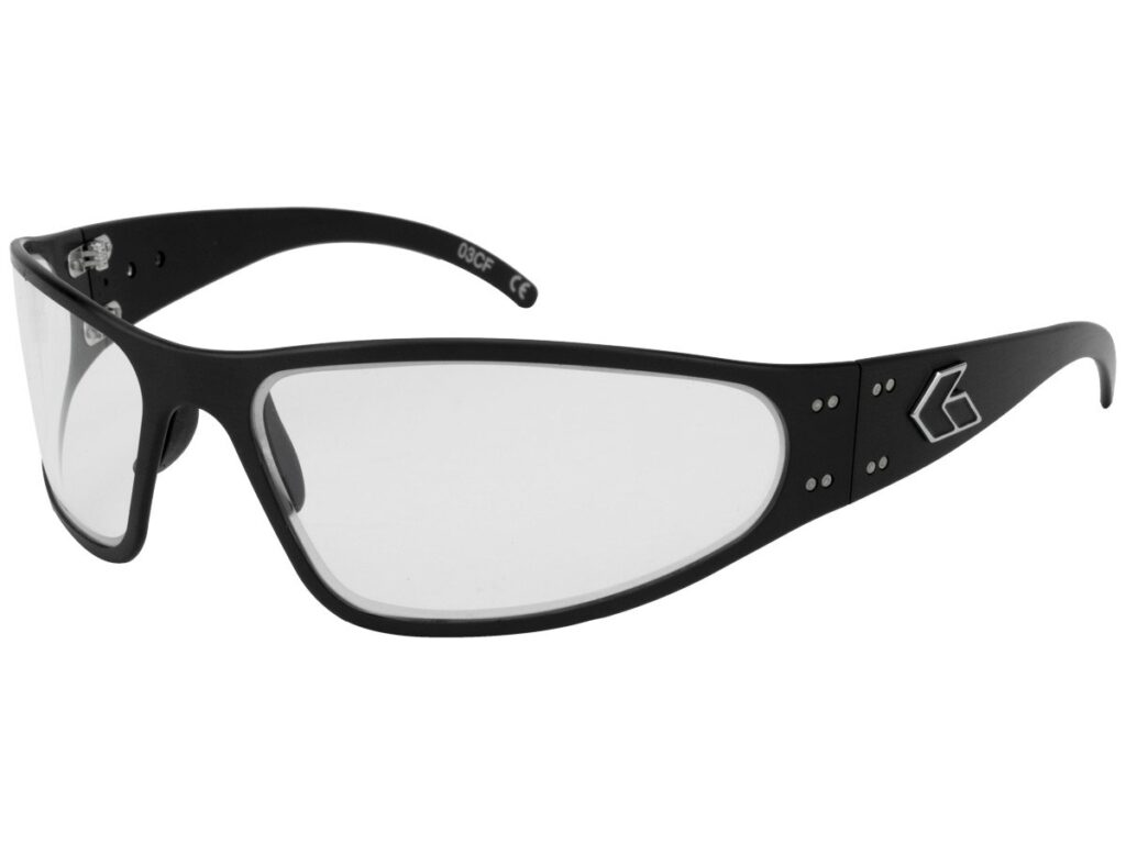 WRAPTOR/Black/ Clear UV Lens