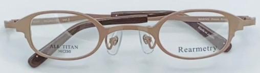 小顔の方の眼鏡