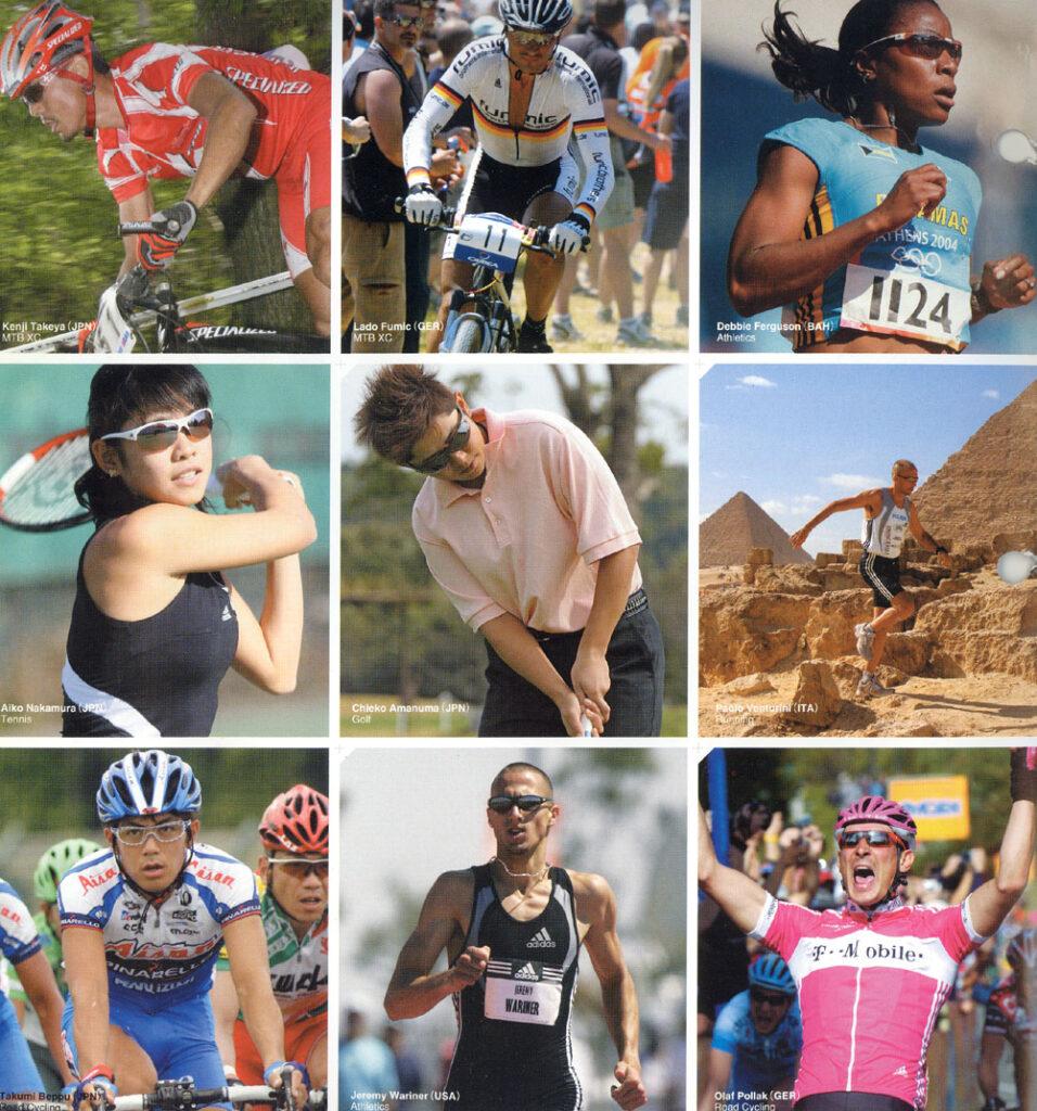あるゆるスポーツにおいて静止視力がパフォーマンスを左右する。
