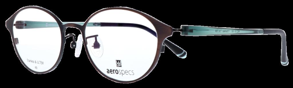 ご婦人用遠近両用眼鏡WOPブルーム:WOPエアロスペックス