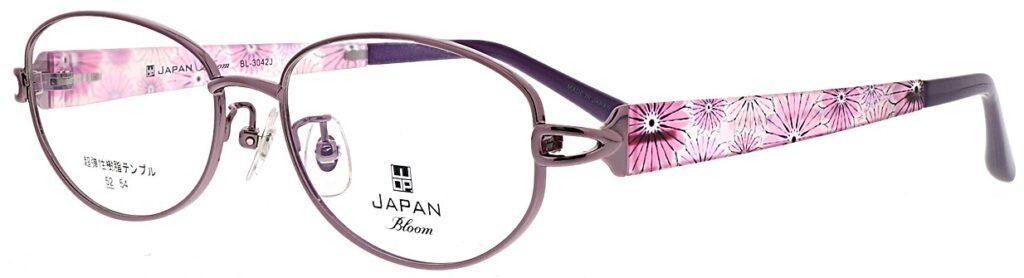 ご婦人用遠近両用眼鏡WOPブルーム:BL3042J