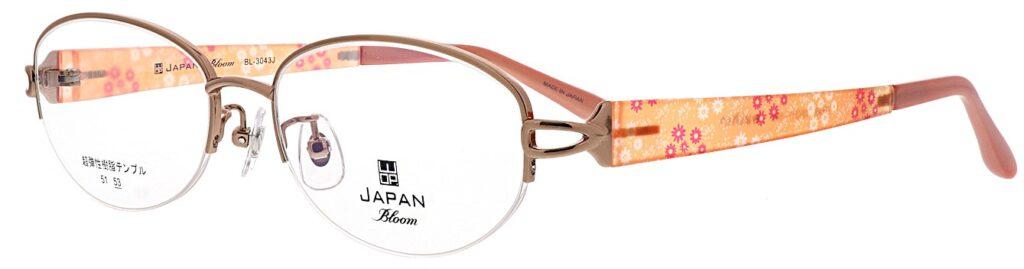 ご婦人用遠近両用眼鏡WOPブルーム:BL3043J