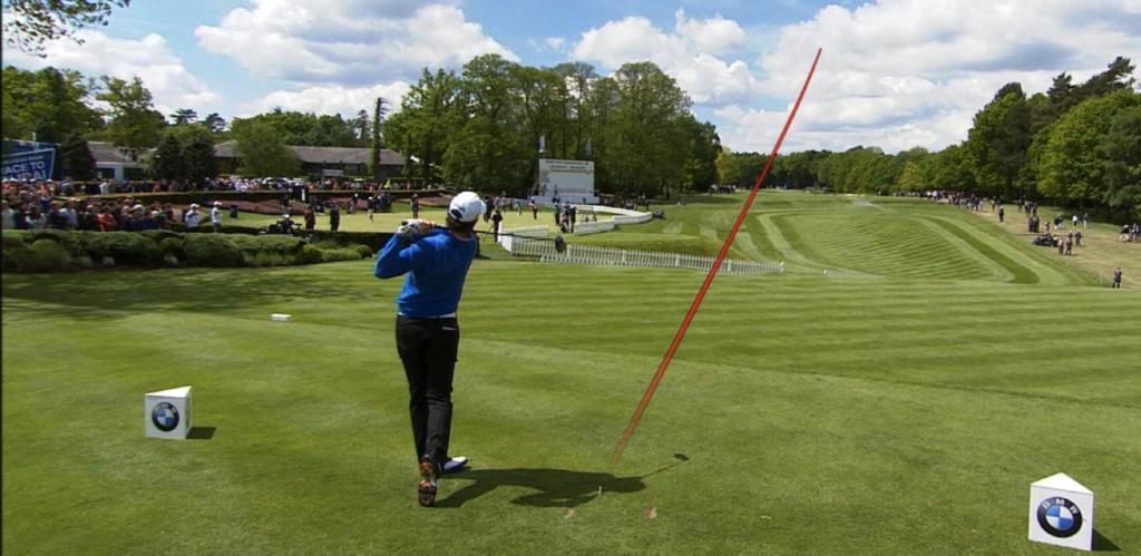 ゴルフと視覚化